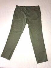GAP Men's 38 X 32 Slim Fit Jeans Green Denim