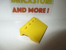Lego 1x vehicle mudguard garde boue 3x4x1 2//3 Curved jaune//yellow 98835 NEUF
