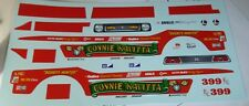 MPC Connie Kalitta Bounty Hunter MUSTANG FUNNY DECALS MODEL CAR MOUNTAIN 1/25