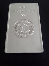 LINGOTE  DE PLATA  PURA SEMSA 999 (250  GRAMOS), silver bar, silber barren