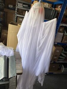Premier Large 1.62m Hanging Ghost Halloween Decoration With LED Head - 722