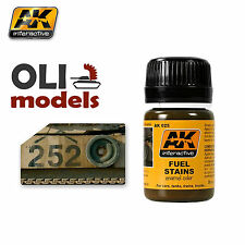 Weathering FUEL STAINS for Vehicles Enamel 35ml - AK Interactive 025