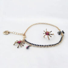 & Toe Ring, New Betsey Johnson Spider Anklet