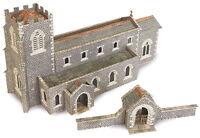 Metcalfe PN926 - Stone Parish Church Die Cut Card Kit N Gauge - Tracked 48 Post