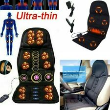 Full Back Massage Cushion Car Chair Seat Home Office Massager Neck Heat US 110V