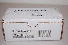 JK AUDIO QUICKTAP IFB TELEPHONE HANDSET IFB New in box