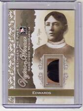 DON EDWARDS /14 ITG BTP Between Pipes GOLD PARALLEL 1/1 Vezina Winners Stick SP!