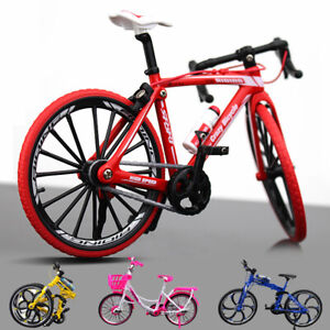 New Creative Alloy Simulation Bicycle Model Ornaments Mini Bicycle Toy Model
