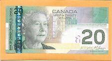 2004 CANADIAN 20 DOLLAR BILL A/R/N2624230 (CIRCULATED)