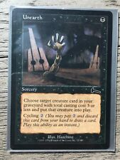 1x NM Unearth MTG Magic the Gathering Urza's Legacy Free Shipping.