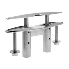 8 Inch Boat Pop Up / Pull Up Cleat Marine Grade 316 Stainless Steel Hardware