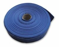 """1"""" (Zoll) - 50 m Flachschlauch blau, Garten - Industrie - Landwirtschaft"""