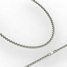 14 Carat White Gold Fine Necklaces & Pendants without Stone