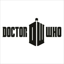 Decal Vinyl Truck Car Sticker - Doctor Who Tardis Logo