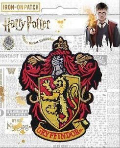 Harry Potter Gryffindor Crest Patch