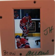 BRIAN BELLOWS Montreal Canadiens Capitals MIGHTY DUCKS  ORIGINAL SLIDE 1
