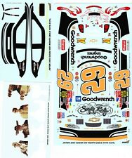 #29 Kevin Harvick Sugar Ray Tribute Chevy JWTBM 1/24 Decals
