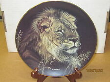 """"""" African Lion"""" - Natures Majestic Cats Collector Series - Hamilton"""