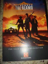 REMEMBER THE ALAMO EMMY DVD HISTORY CHANNEL NARRATE STACY KEACH 1hour 28min