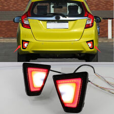 LED Rear Bumper Lamps  Brake Back Up Lights Turn Signal For Honda Jazz/Fit 14-17