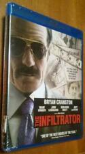 The Infiltrator ~ Diane Kruger, Bryan Cranston, Benjamin Bratt-New Blu-Ray Movie