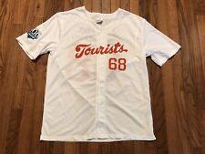 2015 MiLB Asheville Tourists Polyester Button Front Baseball Jersey Mens XL