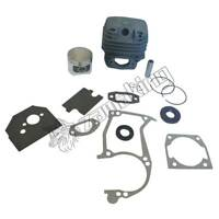 45MM CYLINDER,PISTON GASKET SET,OIL SAEL FIT FOR CHINESE CHAINSAW 5200 52CC