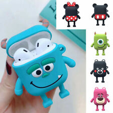 For Apple Airpods Earphone Disney Cartoon 3D Minnie Silicone Protective Case