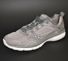 Saucony Grid Web Lightweight Running Shoes Womens Sz 8 Gray S15291 Crosstrainers