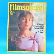 DDR Filmspiegel 26/1980 Barbra Streisand Louis de Funes Simone von Zglinicki P