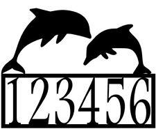 Dolphin address Sign #1 for Condo / Beach, CNC Plasma Cut