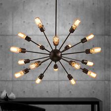 Vintage Sputnik Edison Chandelier Light Hanging Satellite Ceiling Pendant Lamps