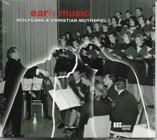 Wolfgang & Christian Muthspiel Early Music CD Album Sealed