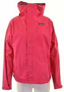 PATAGONIA Womens Windbreaker Jacket UK 10 Small Pink Nylon MO12