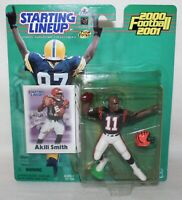 NFL Starting Lineup  2000 - 2001 FOOTBALL CINCINNATI BENGALS  #11 AKILI SMITH