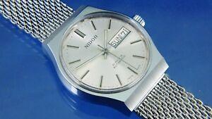 Retro Vintage Nidor Automatic Gents Watch Circa 1970S - NOS -21 jewel MSR P27