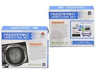 Detective Game Fingerprint Verification Analysis Science Educational Set Kid Toy