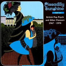 Various - Piccadilly Sunshine Part 6. Brit Pop Psych 67-70. New CD + sealed