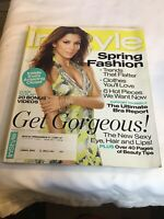 Instyle Magazine - March 2008 - Eva Longoria - Spring Fashion