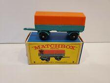 MATCHBOX LESNEY #2d MERCEDES TRAILER Mint in Box
