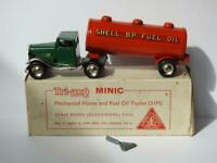 TRIANG MINIC 1946 RARE BOXED 31M C/W MECHANICAL HORSE FUEL OIL TANKER TRAILER