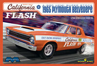 Moebius 1/25 1965 Plymouth Belvedere California Flash Plastic Model Kit 1222