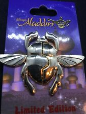 Disney Aladdin 25th Anniversary - Scarab (2 Piece) LE 3000 Pin NEW