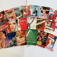 1988 Vintage Avon Catalog Campaign Books Lot of 20