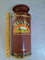 BAILEYS ORIGINAL IRISH CREAM EMPTY TIN CANISTER 750 ML