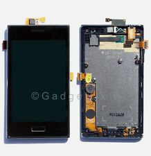 LG Optimus L5 E610 LCD Display Touch Lens Digitizer Screen Assembly + Frame OEM
