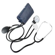 Nylon Cuff Blood Pressure Monitor Manual Stethoscope & Sphygmomanometer