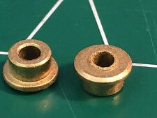 Low Friction 3/32 Axle Bushings 3/16 hole 1/24 slot car from Mid America Raceway