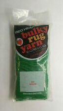Red Heart Latch Hook Bulky Rug Yarn - 625 Green - 320 Pieces