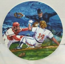 Baseball Vintage 1985 Avon  Moments Of Victory Plate Collection   NEW  NIB